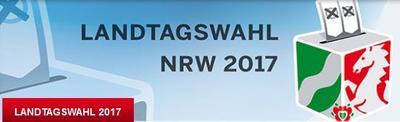 Logo des Innenministeriums des Landes NRW zur Landtagswahl
